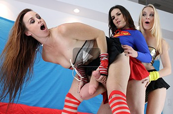 Super Heroine Shlong Showdown